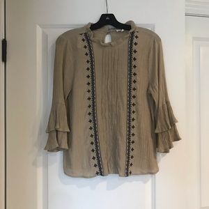 New without tags boutique bohemian top